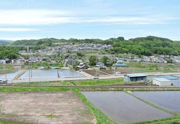 佐久穂町の風景