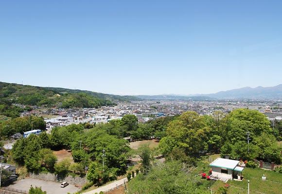 佐久市臼田地区の風景